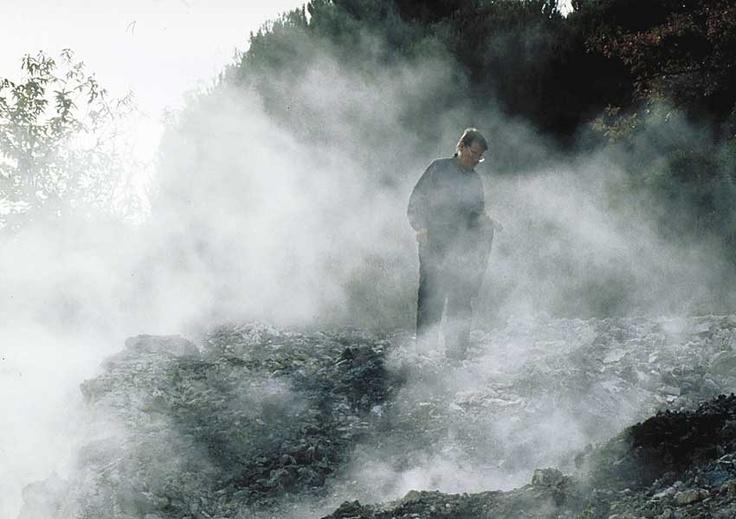 The vapor geysers in Upper Cecina Valley - Tuscany #volterratur