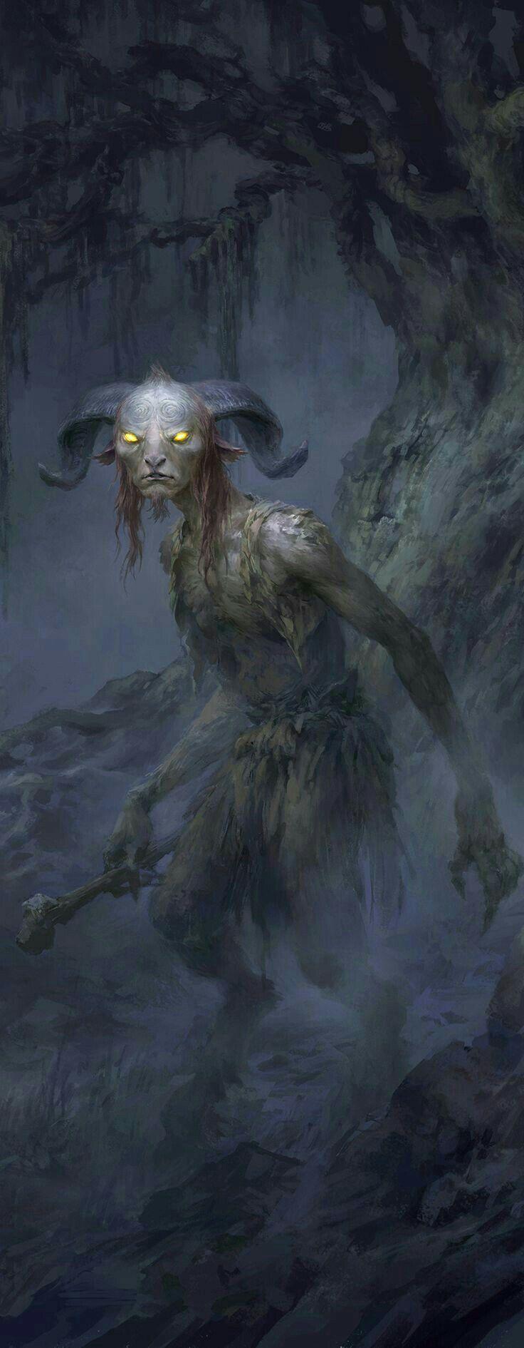 Faun belonging to a darker path....