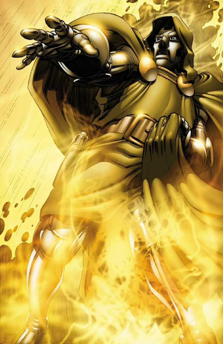 Doctor Doom (Dr. Victor Von Doom) art by Pat Quinn