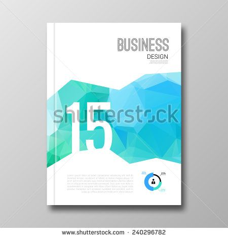 Business design background. Cover Magazine geometric shapes info-graphic, vector illustration 15