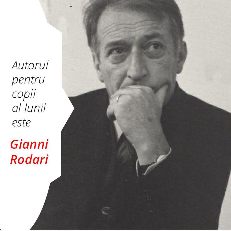 Autorul pentru copii al lunii octombrie 2016 este Gianni Rodari.