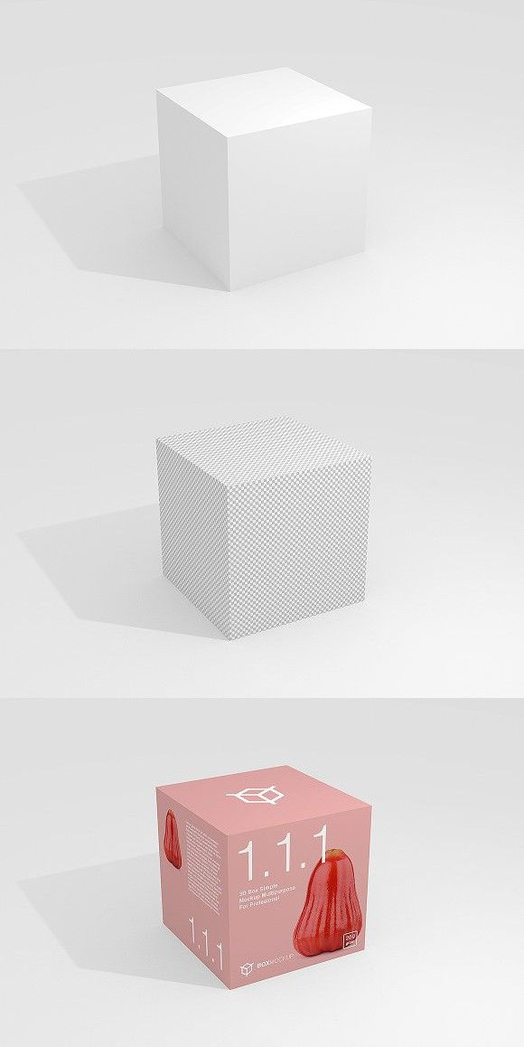 Download 1 1 1 Simple 3d Box Mockup Box Mockup Desktop Calendar Design Calendar Design