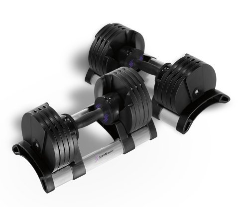 StairMaster Pair of TwistLock Adjustable Dumbbells (100-Pounds) by StairMaster, http://www.amazon.com/dp/B005ASREVK/ref=cm_sw_r_pi_dp_RLhQrb1QWWV8E