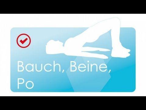 ▶ Straffung & Muskelaufbau 01: Bauch Beine Po mit Manuel // 30 Minuten - YouTube