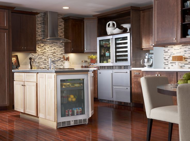 A State Of The Art Kitchen Adorned With Perlick Products, Including A