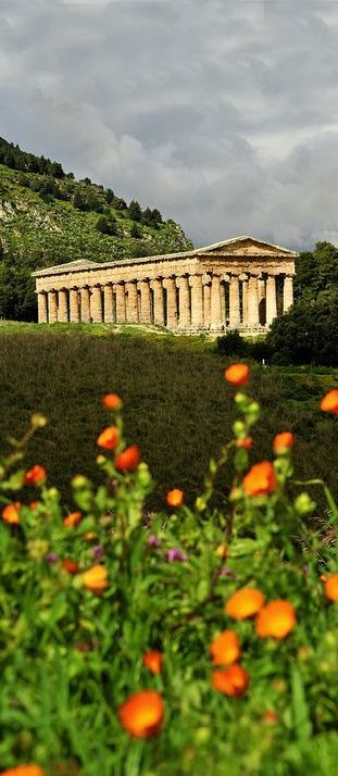 Segesta, Sicily, Italy  also saw this with family                                                                                                                                                                                 More