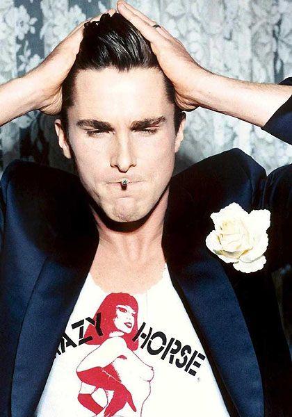 Christian Bale.But, Celeb, Boys, Ellenvonunwerth, Christian Balebatman, Actor, Crazy Horse, Beautiful People, Ellen Von Unwerth