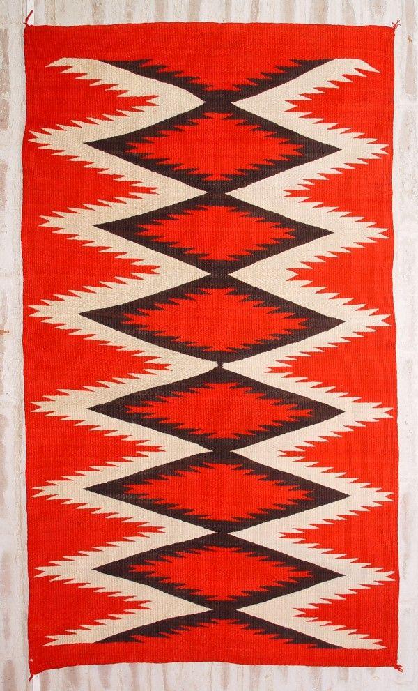 Historic Native American Textile : Ght 886 : Circa 1890 Transitional  Weaving   Nizhoni Ranch Gallery