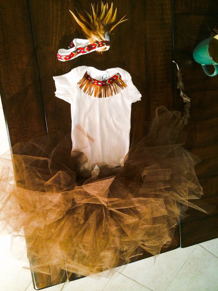 Toddler girls Indian Costume