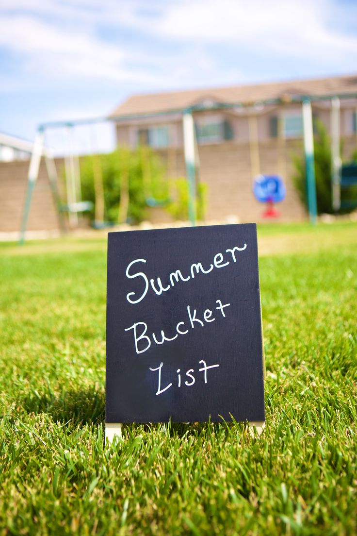 How to Plan the Perfect Summer Bucket Lists.  Summer fun activities.  #sponsored