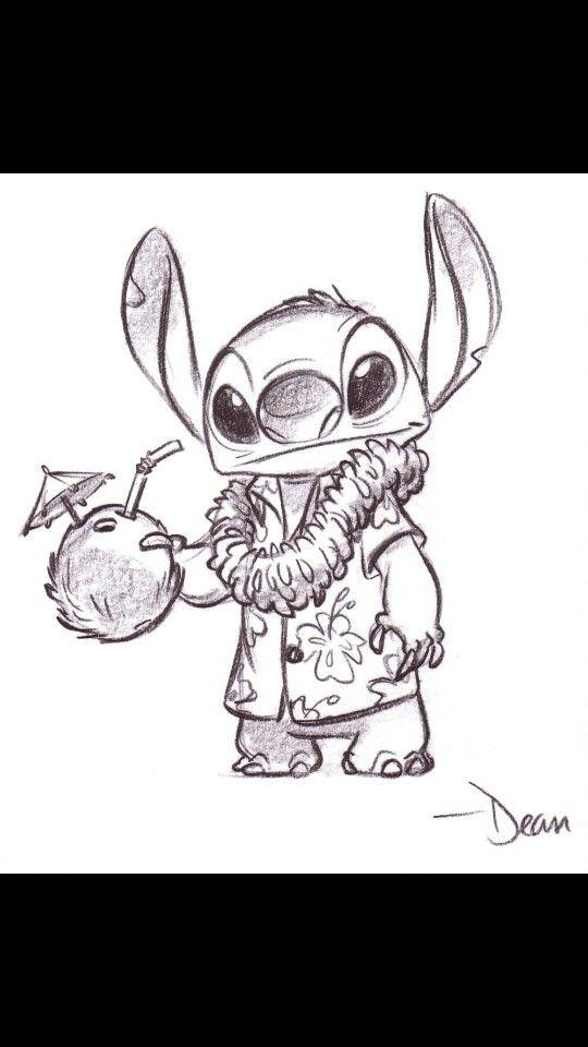 Stitch en vacance