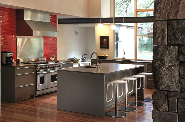 Beautiful Bulthaup kitchen with Ceasarstone countertops - Custom Home Builders - Gallery | Bauhaus | EGC Custom Homes | Dallas' Premier Home Builder