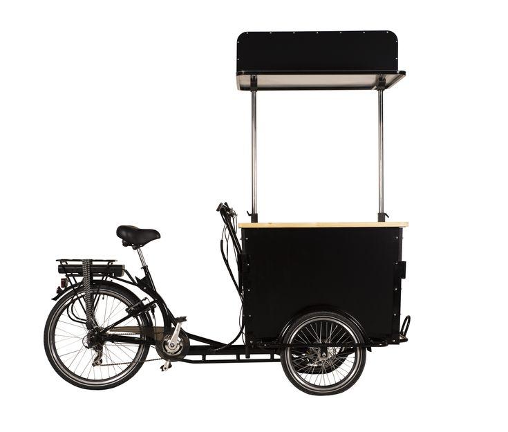 Electric Vending Trike  for street food or street vending.