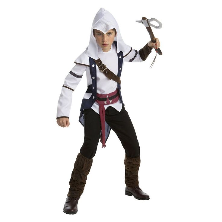 Teen Assassin's Creed Connor Classic Costume, Boy's, Size: XL, Multicolor