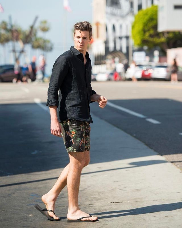 Nice summer style   Sandals in 2019   Summer outfits men