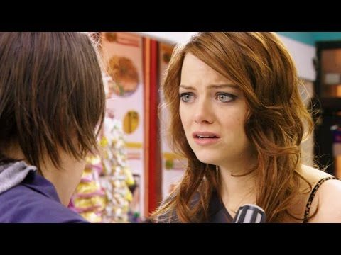 Top 10 Emma Stone Performances - (10)The Housebunny (9)The Rocker (8)Spider-Man (7)Gangster Squad (6)Crazy, Stupid, Love (5)The Help (4)Zombieland (3)Superbad (2)Birdman (1)EASY A (also The Croods, Ghosts of Girlfriend's Past, PaperMan, Magic in the Moonlight)