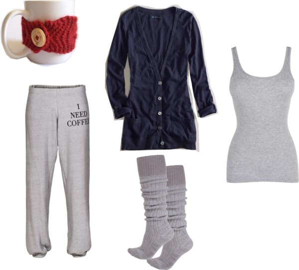 """""""The Perfect Christmas Morning Outfit"""" by shannon-story on Polyvore"""