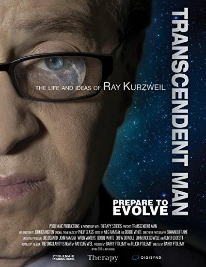 Ray Kurzweil & Peter Diamandis & Barry Ptolemy-Transcendent Man