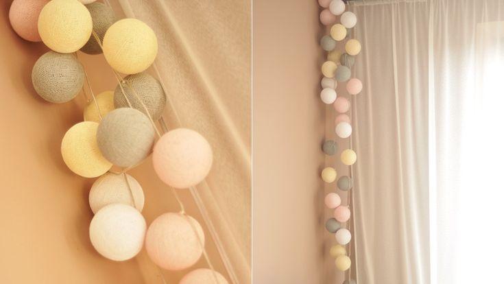 Cotton Ball Lights – wnętrzarski hit - Allegro.pl