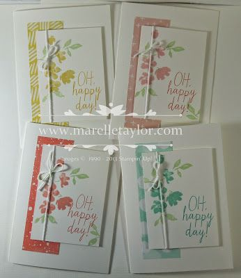 Painted Petals Card Set