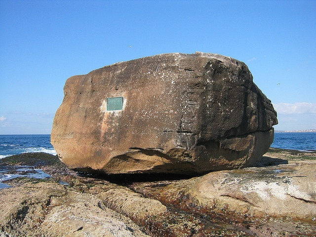 The big rock at Ben Bucklers Point