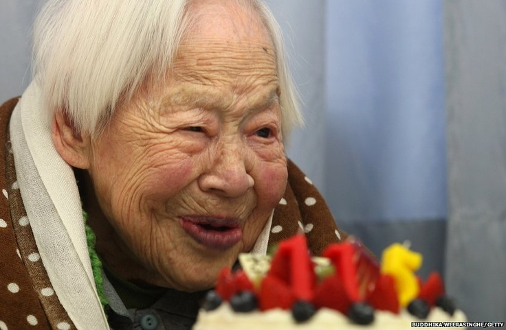 Misao Okawa recognised by Guiness World Records as world's oldest woman at 115 - She still looks quite pleased to be here which I like.