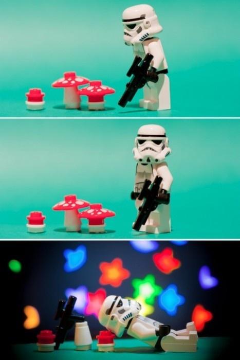 Lego magic mushrooms *Snort* #starwars #lego #shroom #drugs #High #SUPERHIGH