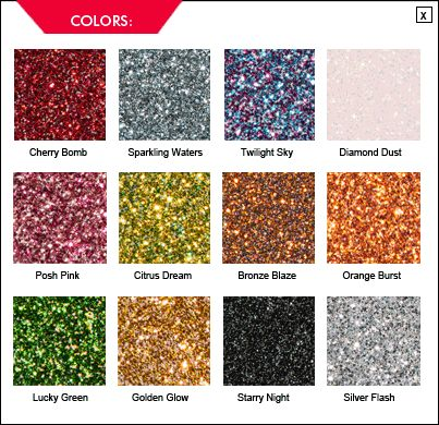 krylon new glitter spray paint...even safe for scrapbooking