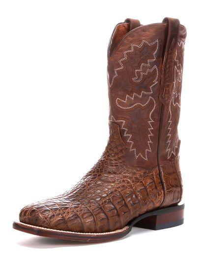 Men's Denver Caiman Boots - Bay Apache