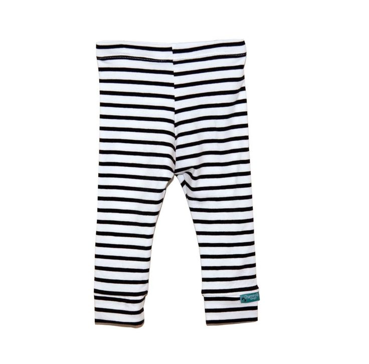 Black Stripes Leggings - Organic Fabric via Charmtrolls Design. Click on the image to see more!
