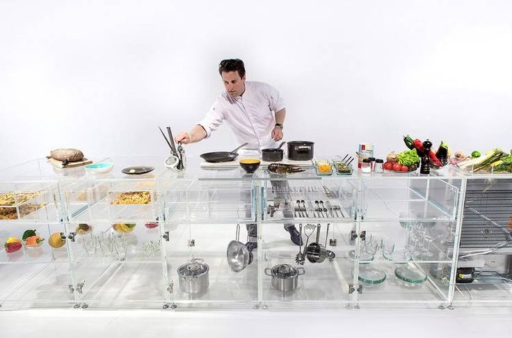 La cocina transparente que mejora los hábitos de la alimentación