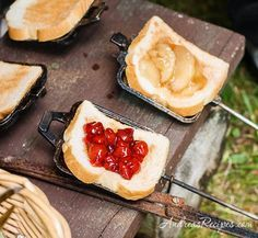 Andrea's Recipes - Campfire Pies