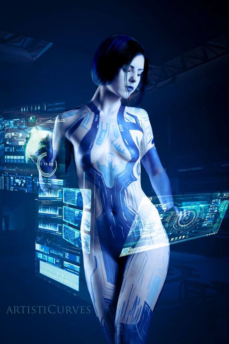 Halo logo png www imgarcade com online image arcade - Cortana Cosplay To Tide You Over Until Halo 5 Gamemoir