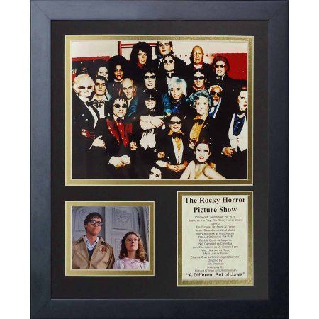Legends Never Die The Rocky Horror Picture Show  Framed Photo Collage, 11 inch x 14 inch