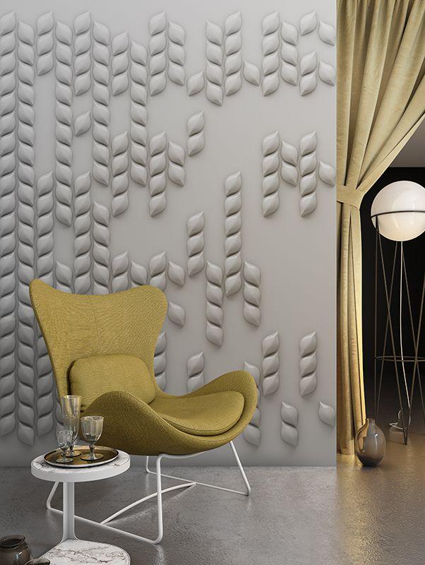 Petalis | Designer Murals | Accent Wallpaper | Choose your favorite design for our Accent Wallpaper Collections www.accentwall.eu #3dwallpaper #mural #readingcorner #accentwall