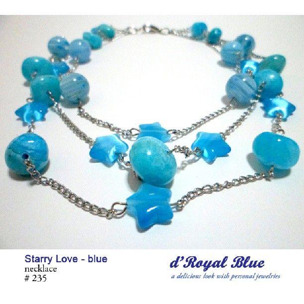 #jewelery #handmadejewelry #handmade #jewelry #blue #cute #necklace #kalung