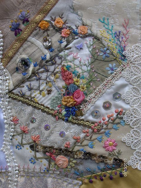 2795 Best Images About Embroidery Embellishments Crazy