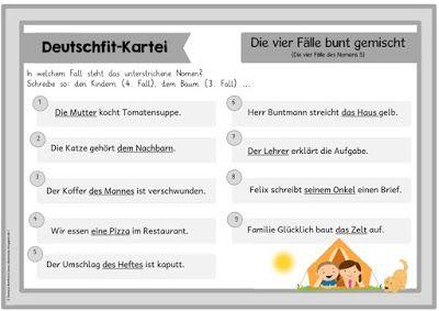 Ideenreise: Deutschfit-Kartei (Teil 5)