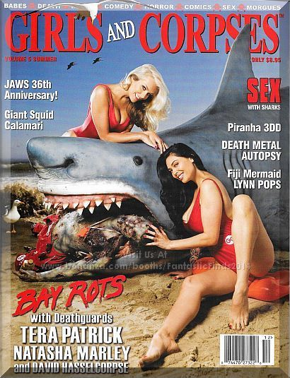 Just when you thought it was safe to go back on the toilet... Our Vol 5 Summer issue has surfaced and it's a tsumani of fun! Only $19.99 with Free Shipping!