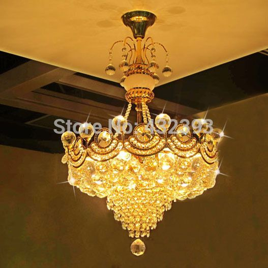 Lamp Detector Quality Shades Antique Floor Lamps Directly From China Sleep Suppliers Modern Luxury Gold Crystal Chandelier Re De