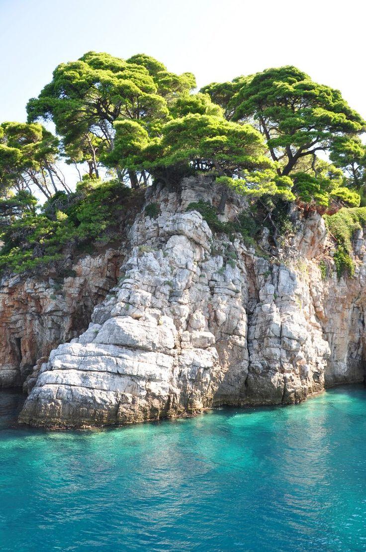 Elafiti islands in Croatia.