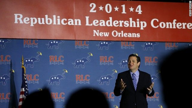 Ted Cruz wins presidential straw poll at Republican Leadership Conference May 31st, 2014  03:43 PM ET