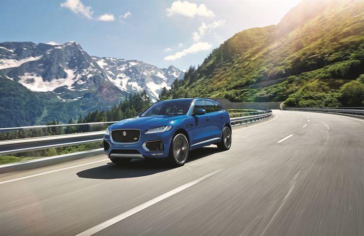 Jaguar F-Pace debuts at 2015 Frankfurt Motor Show