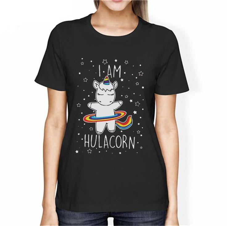 Women's I am a Hulacorn Unicorn T-Shirt – 100 Unicorns
