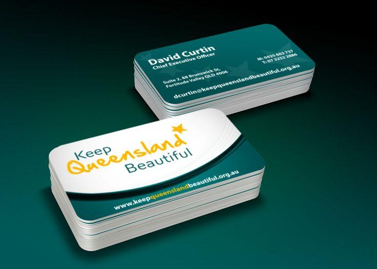 Keep Queensland Beautiful Business Card