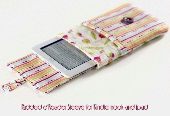 Padded eReader for Kindle Nook and iPad