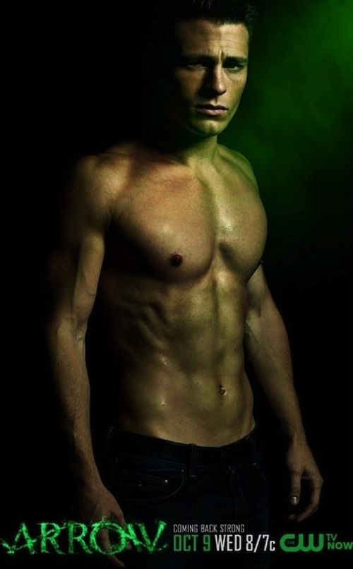 This is beautiful man Colton Haynes during his day job on the TV show, Arrow. | Colton Haynes Sings, Is Officially The Most Perfect Human Ever