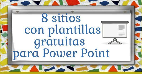 Webs con plantillas gratuitas para Power Point