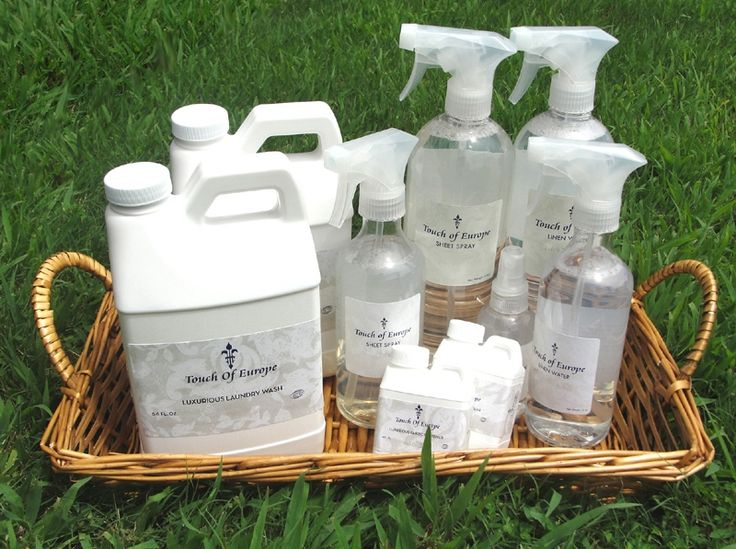 Best Touch of Europe linen care collection