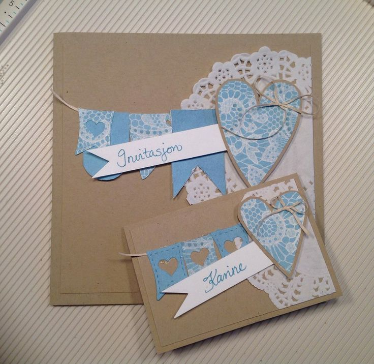 Invitation and placecard